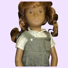 Wonderful Red Head Pigtail Sasha dark skin doll Free P&I US Buyers