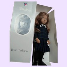 Ltd Ed Sasha Kiltie real hair doll w/provenance Free P&I US Buyers
