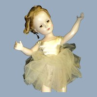 "20"" Madame Alexander Plastic Ballerina for restoration Free P&I U S Buyers"