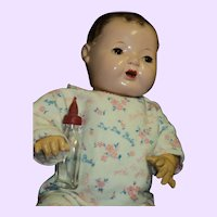 "Beautiful 15"" Effanbee  Dy-Dee Baby Doll Free P&I US Buyers"