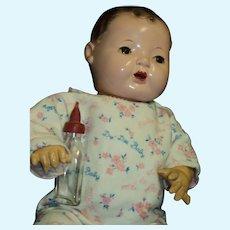 "Beautiful 15"" Effanbee  Dy-Dee Baby Doll Free P&I US Buyers"