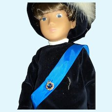 Sasha Ltd Ed Prince Gregor doll w/box free P&I US Buyers