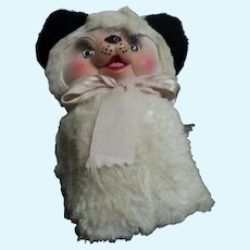 "Adorable Rubber Faced 12"" Panda Bear Free P&I US Buyers"