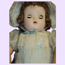 Large Early Madame Alexander tagged  Genius Baby Doll Free P&I US buyers