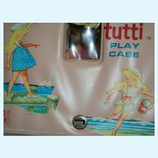 Tutti Doll w/ case  & clothes Free P&I US Buyers