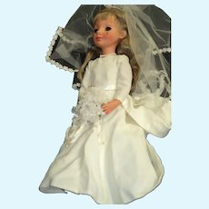 "Beautiful 17"" Furga Italian Alta Moda Bride Doll Free P&I US Buyers"