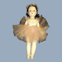 Beautiful Madame Alexander Margot Ballerina doll for parts or restoration jFree P&I US Buyers