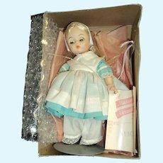 "HTF 8"" Madame Alexander 8"" Alice in Wonderland doll w/ box"
