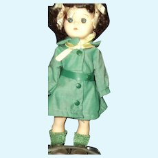 """8"""" Ginger Girl Scout doll made for Terri Lee Free P&I US Buyers"""