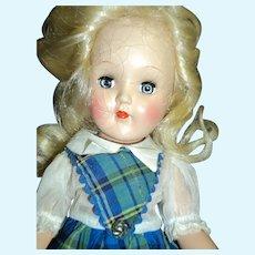 Wow ! PT 90 Toni Doll w/dress tag Sweet dress Free P&I US Buyers!
