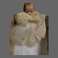 Nancy Ann Story Book Doll Rock-a-Bye Baby w/ original box Free P&I US Buyer