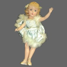 """Madame Alexander 15"""" Babs Tagged skater doll Free P&I US Buyers"""