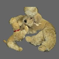 Adorable Steiff Snobby and her Puppy Free P&I US Buyers