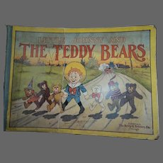 1907 Little Johnny and the Teddy Bears Rhymes by Towne Editor of Judge & pic by J. R. Bray Free P&I US Buyers