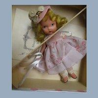 153 Nancy Ann SB Doll Bo Peep  jl slim wrist tag booklet Free P&I US Buyers