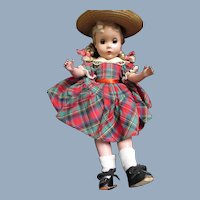 """Sweet 13""""  Madame Alexander Polly Pigtails doll Free P&I US Buyers"""