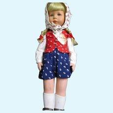 "Charming 18"" Kathe Kruse stoff puppe doll Free P&I US Buyers"