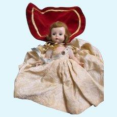 Alexander kins Queen Eligabeth 50's doll for parts or restoration Free P&I US Buyers