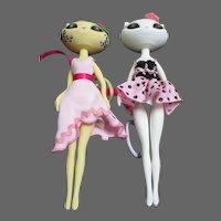 2005 Madame Alexander Kitty Dolls Free P&I US Buyers