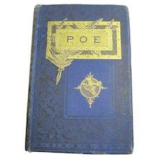 1882 POE Poems of Edgar Allan Poe Free P&I US Buyers