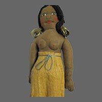 "10"" OOAK Travel Doll Native Free P&I US Buyers"