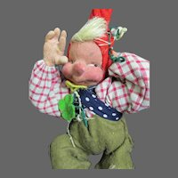 "9"" Leprechaun Cloth Doll Free P&I US Buyers"