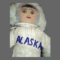 "OOAK Awesome Alaskan 9"" Doll Free P&I US Buyers"