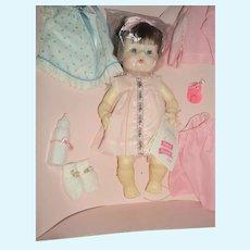 1960's Madame Alexander Sweet Tears doll w/layette & Box