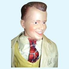 """The Dick Clark 25"""" doll Host American Band Stand Free P&I U S Buyers"""