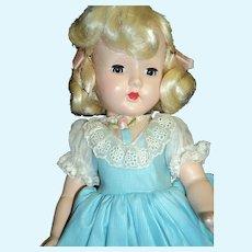 "Lovely Effanbee 14"" Honey doll Free p&I US Buyers"