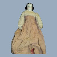 """14"""" China project doll w/clothes for parts or restoration Free P&I US Buyers"""