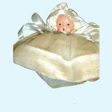 Nancy Ann Story Book Doll #200w/box Hush-a-Bye Series Short Dress Free P&I US Buyers