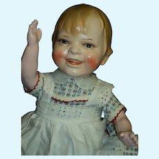 "Rare 15"" Gladdie doll by Helen Jensen Germany Free P&I US Buyers"