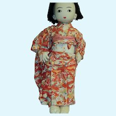 Tagged Asian Willy  Seiler Artist doll Japan Free P&I US Buyers