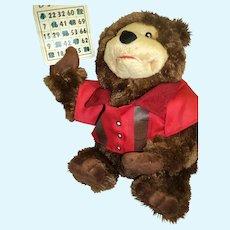 Bingo Teddy Bear Musical with action Free P&I US Buyers