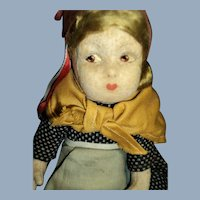 Interesting cloth Doll expressive face Free P&I US Buyers