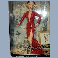 1997 Gentlemen Prefer Blondes Hollywood Legends Barbie Doll Free P&I US Buyers