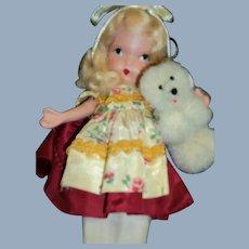 Nancy Ann Story Book Doll Goldilocks and Bear Free P&I US Buyers