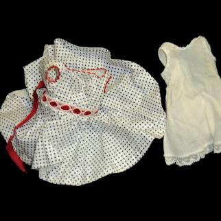 Tagged Madame Alexander Cissette  Doll Dress & Slip  Free P&I US Buyers