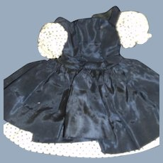 Lovely Madame Alexander Taffeta Dress with cotton inserts Free P&I US Buyers