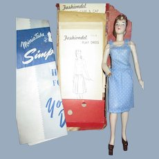 Mannequin Sewing Doll W/Many Patterns Free P&I US Buyers