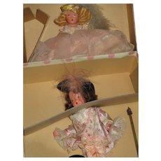 Nancy Ann Storybook Prince Souci Princess Minette MIB Dolls Free P&I US Buyers