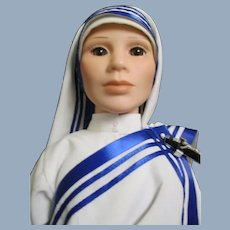 Missionary of Charity Nun Doll Free P&I US Buyers