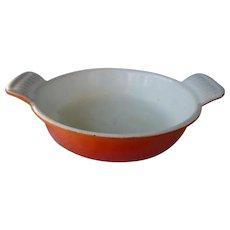 Descoware Flame 6 Inch Au Gratin Pan