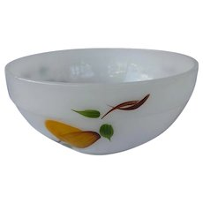 Medium Fire King Anchor Hocking Gay Fad Fruits Mixing Bowl