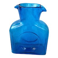 Blenko Blue Water Bottle 384