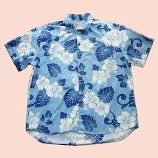 38b73988 Dressy Hilo Hattie Hibiscus Print Hawaiian Aloha Surfer Shirt