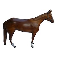 Vintage Woodgrain Race Horse Breyer Horse Mold # 36