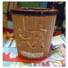 Otagiri Karate Punch Vintage Tiki Mug
