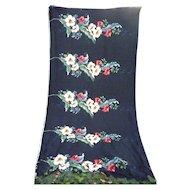 Hibiscus and Tropical Leaves Trendtex Hawaiian Decorator Fabric